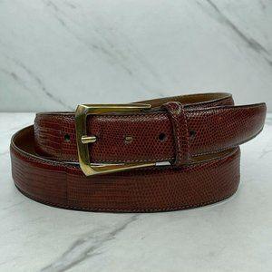 Trafalgar Brown Premier Vintage Burnished Belt